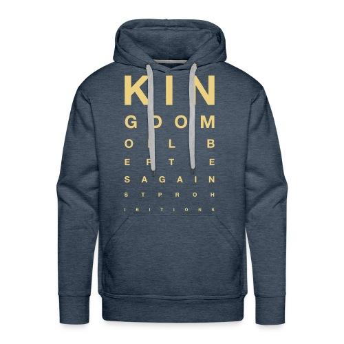 OFTALMO - Sweat-shirt à capuche Premium pour hommes