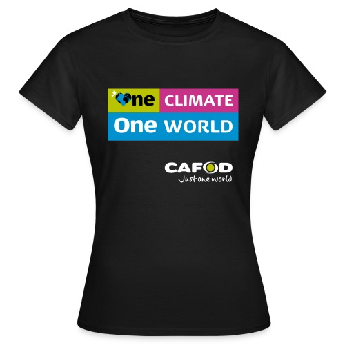 One Climate One World campaign Womens T-shirt - Women's T-Shirt