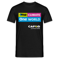 T-Shirts ~ Men's T-Shirt ~ One Climate One World campaign T-shirt