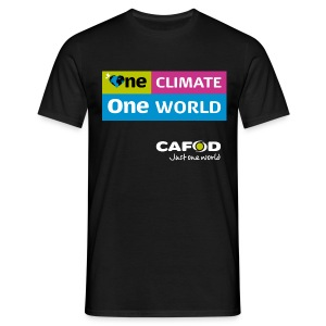 One Climate One World campaign T-shirt - Men's T-Shirt