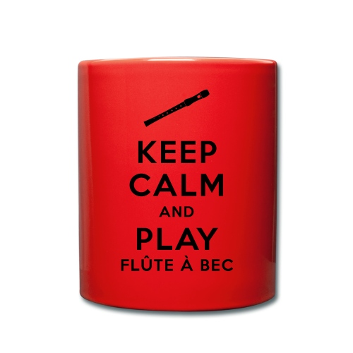 Tasse Keep calm flûte - Mug uni