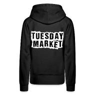 Logo Tuesday Market Frauen Premium Hoodie