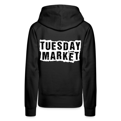 Damen Hoodie Tuesday Market Bandlogo - Frauen Premium Hoodie