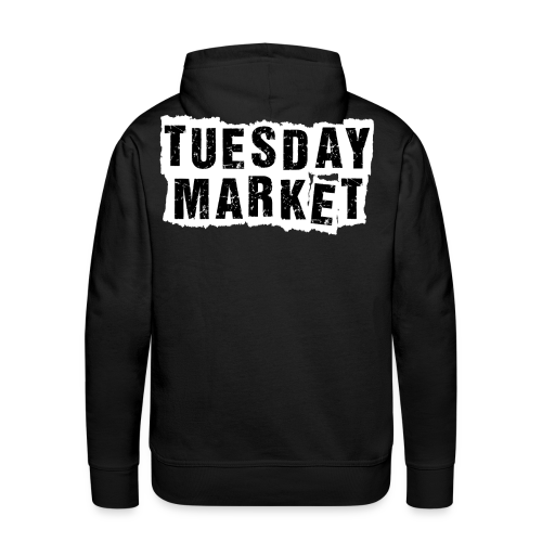 Herren Hoodie Tuesday Market Bandlogo - Männer Premium Hoodie