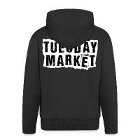 Logo Tuesday Market Männer Premium Kapuzenjacke