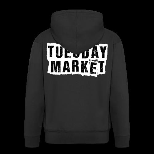Herren Kapuzenjacke Tuesday Market Bandlogo - Männer Premium Kapuzenjacke