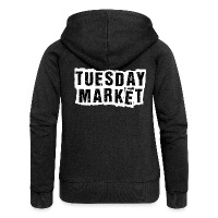 Logo Tuesday Market Frauen Premium Kapuzenjacke