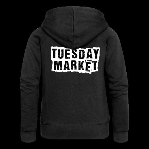 Damen Kapuzenjacke Tuesday Market Bandlogo - Frauen Premium Kapuzenjacke