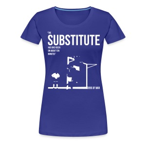 Women's THE SUBSTITUTE 1995 FA Cup t-shirt  - Women's Premium T-Shirt