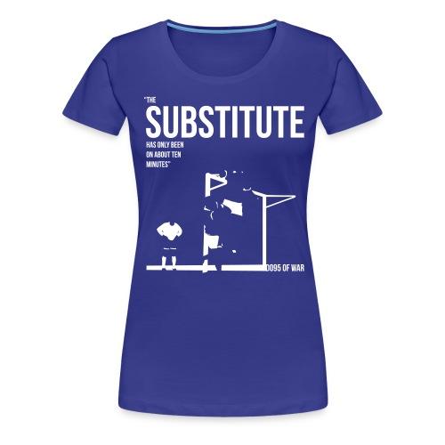 Women's THE SUBSTITUTE 1995 FA Cup t-shirt  - Women's Premium T-Shirt
