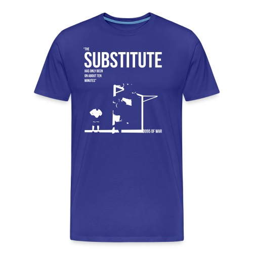 Men's THE SUBSTITUTE FA Cup 1995 t-shirt  - Men's Premium T-Shirt