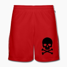 Pirate Skull - Trendy & Cool Skull Trousers & Shorts