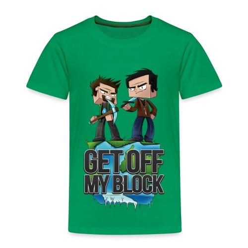GET OFF MY BLOCK ft. CaptainSparklez Youth's Shirt - Kids' Premium T-Shirt
