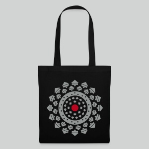 Mandala de course - Tote Bag