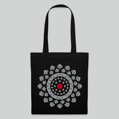 Mandala de course - Tote Bag
