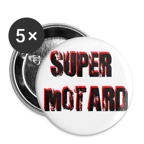 Super Motard - Confezione da 5 spille media (32 mm)
