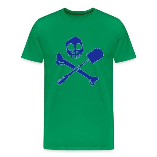 Arrrrrrrgh, Merrrrrrde!! - Grün - Männer Premium T-Shirt