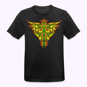 Maori Firebird Men's Function Shirt. - mannen T-shirt ademend