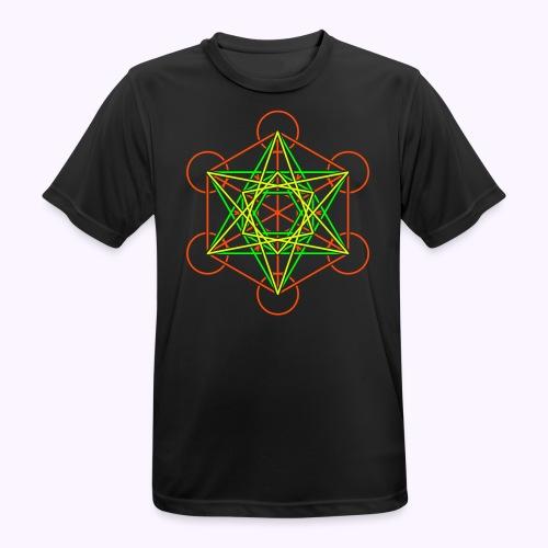 Metatron Cube 3-Color Men Function Shirt - Men's Breathable T-Shirt