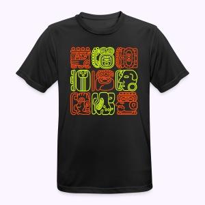 Bolontiku Tiki: Men's Function Shirt - mannen T-shirt ademend