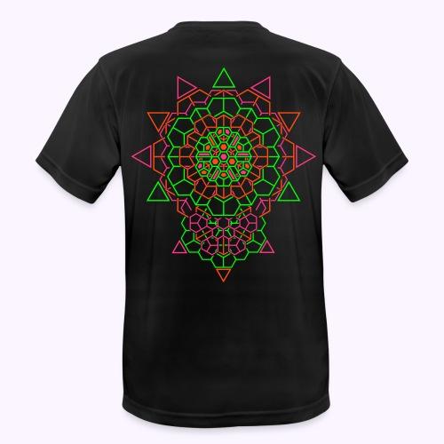 Cosmic Crystal 2-Side Men Function Shirt - Men's Breathable T-Shirt