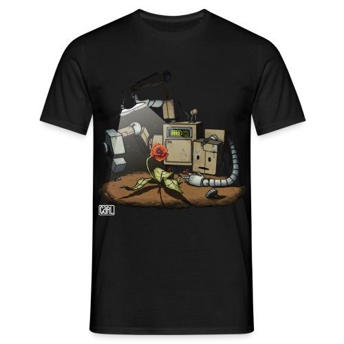 Saving Nature - T-Shirt M - Männer T-Shirt