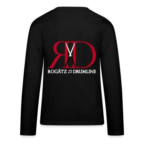 Rogätz Drumline Langarmshirt für Teenager - Teenager Premium Langarmshirt