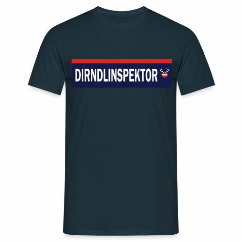 Dirndlinspektor - Männer T-Shirt