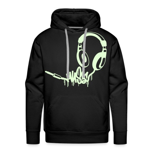 Sweat Music by KVOBTMKR - Sweat-shirt à capuche Premium pour hommes