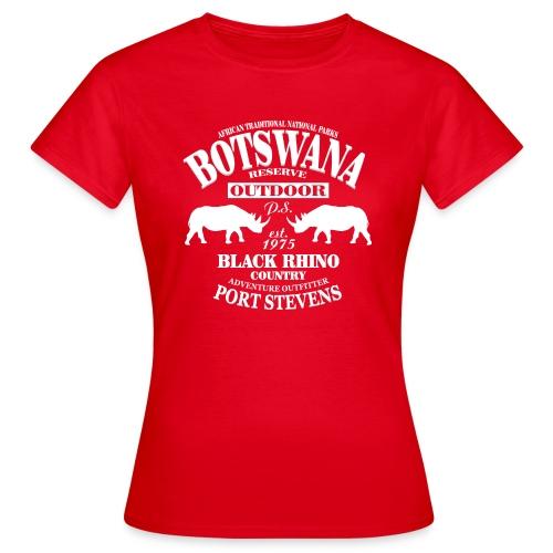 Nashorn - Black Rhino - Frauen T-Shirt