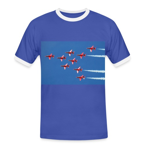 Red Arrows nine-ship - Men's Ringer Shirt