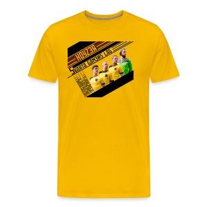 Herrtisha die Team-Maschine - Premium-T-shirt herr