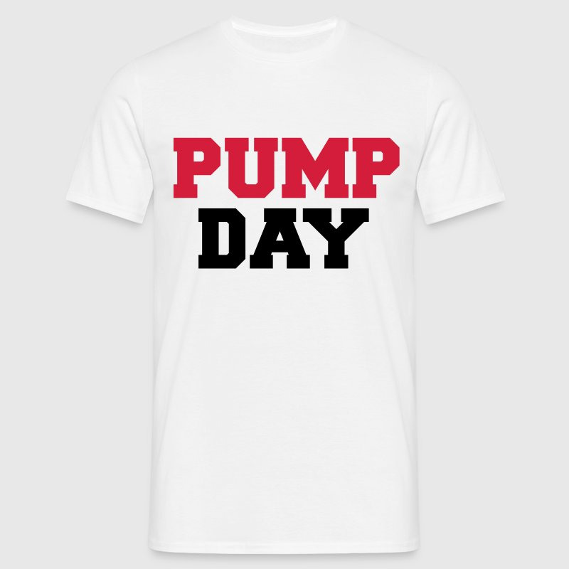 Pump Day T-shirts - T-shirt herr