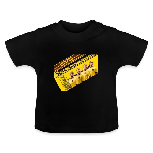 Babytisha die Team-Maschine - Baby-T-shirt