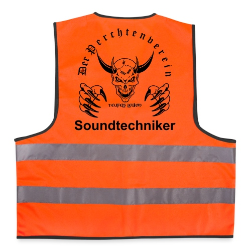 Soundtechniker - Warnweste