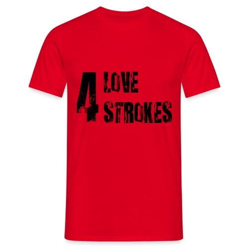 4 Strokes Love Moto - Maglietta da uomo