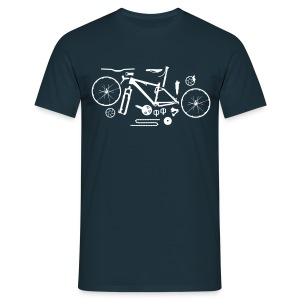 Bike parts - Men's T-Shirt