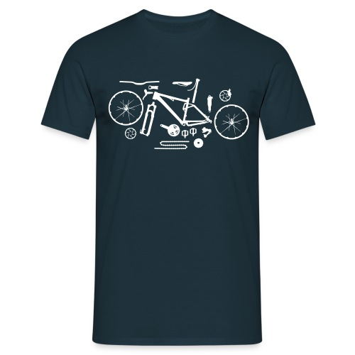 Bike parts - Men's T-Shirt