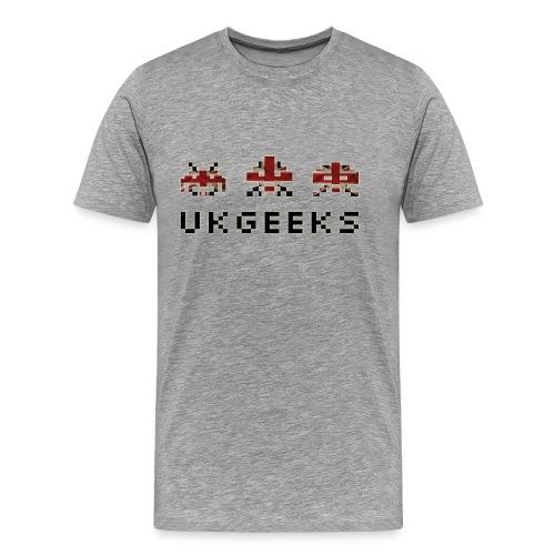 UKGeeks Invaders (M) - Men's Premium T-Shirt