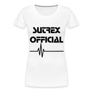 Sutrex Official - T-Shirt [WHITE] [FEMALE] - Frauen Premium T-Shirt
