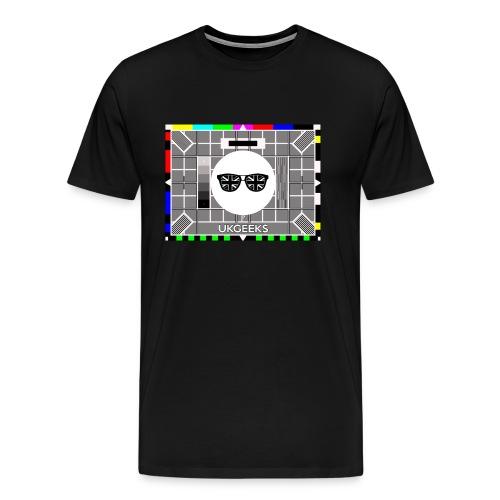 Test Card (M) - Men's Premium T-Shirt