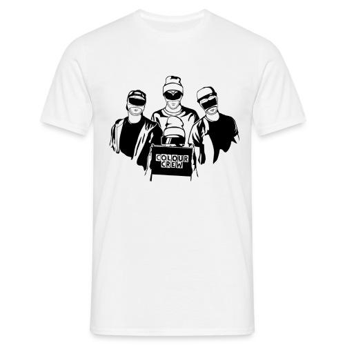 ColouCrew - Logo (Schwarz) - Männer T-Shirt