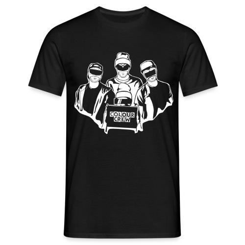 ColouCrew - Logo (Weiß) - Männer T-Shirt