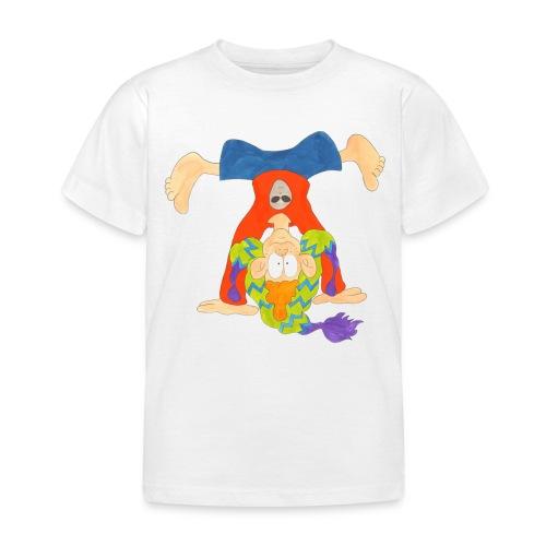 Die Welt steht Kopf! - Kinder T-Shirt