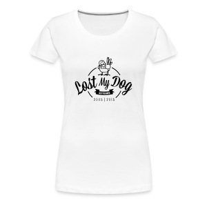 Ladies 10 Year T (Black Print) - Women's Premium T-Shirt