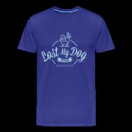 T-Shirts ~ Men's Premium T-Shirt ~ Men's 10 Year T (Blue Print)