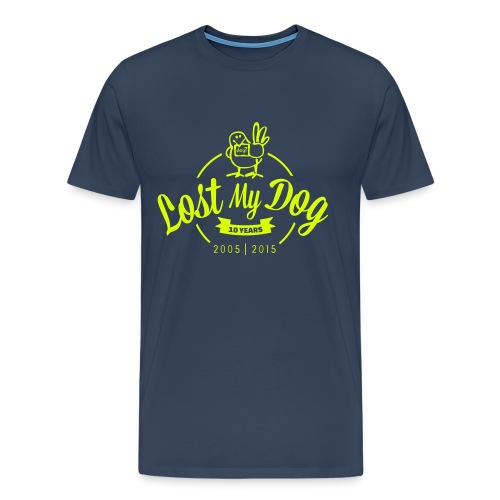 Men's 10 Year T (Neon Print) - Men's Premium T-Shirt