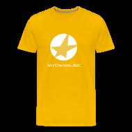 T-Shirts ~ Männer Premium T-Shirt ~ MOM Shirt Yellow