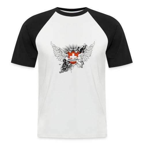 Switzerland - Männer Baseball-T-Shirt
