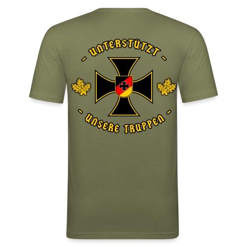 Truppe - Männer Slim Fit T-Shirt